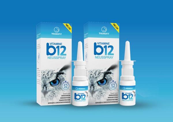 Abonnement – wekelijks 3 á 4 sprays vitamine B12 neusspray