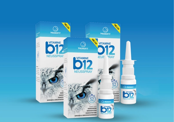Abonnement – wekelijks 5 á 6 sprays vitamine B12 neusspray