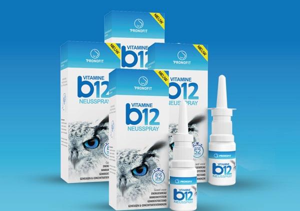 Abonnement: dagelijks 1 spray vitamine B12 neusspray