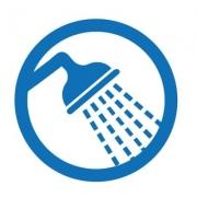 Licener is gemakkelijk uit te spoelem met lauwwarm water.